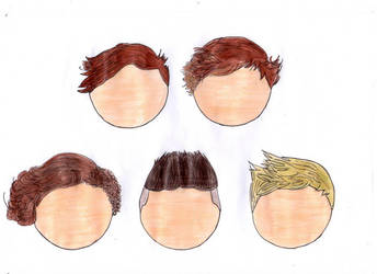 One Direction Old Hair Type by JenniferAndEmmaKane