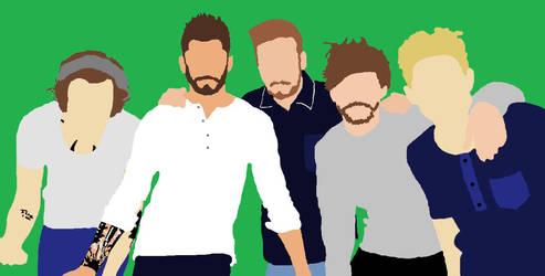 One Direction Faceless by JenniferAndEmmaKane