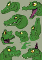 Croco-Doodles by squire-boot