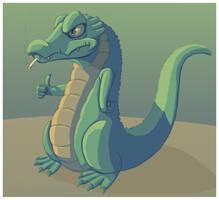 Ciggie Croc by squire-boot