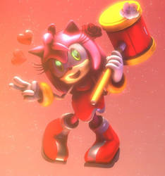 Amy Rose :~Sonic SFM~: by CharCharRose131