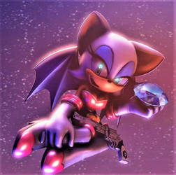 Rouge the Bat :~Sonic SFM~: by CharCharRose131