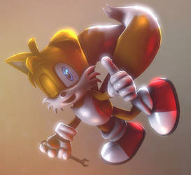 Miles Tails Prower by CharCharRose131