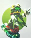 Jet the Hawk :~Sonic SFM~: by CharCharRose131