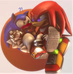 Sonuckles :~Sonic SFM~: by CharCharRose131