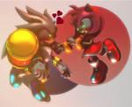 SilvAmy :~Sonic SFM~: by CharCharRose131