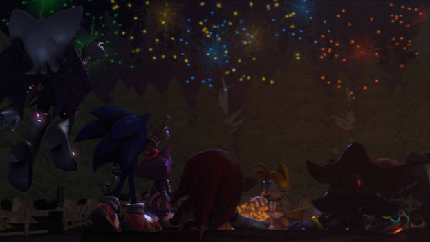 New Years Eve :~Sonic SFM~: by CharCharRose131