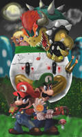 Super Mario World (old version) by Reillyington86
