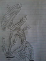 Only A few My Alien Drawings (5) by grisador