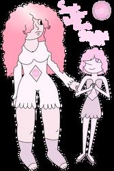 Mystery Gem Reveal: Sweet Brier Rose Quartz by shadowqueen04