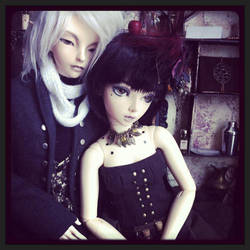 Sarin and Yue: Together by Elzamine