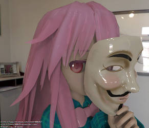 Kokoro's New Mask by fahmi4869