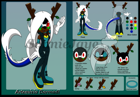 Artemisia Ref Sheet by SonnieJaye