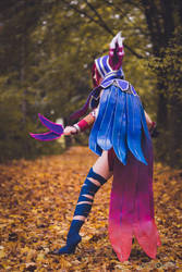 Xayah the Rebel - League of Legends VII by ThanatosArts