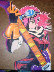 Haruko from FLCL by MasterMcCraig1982