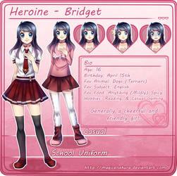 Heroine: Bridget Chara Sheet by MagicalSakura