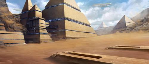 Desert City by SebastianWagner