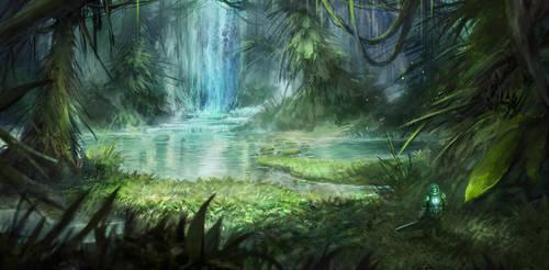 Jungle Exploration by SebastianWagner