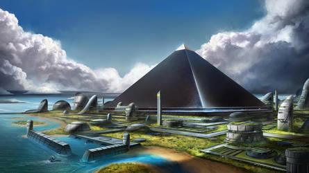Novus Atlantis by SebastianWagner