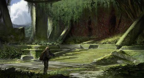 Alien Hideout by SebastianWagner