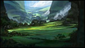 Green Valley by SebastianWagner