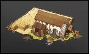 Small Farm by SebastianWagner