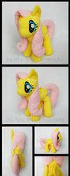 My Little Pony Fluttershy Plush 2 by Rainbow-Kite