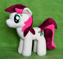 Roseluck plush by Rainbow-Kite