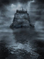 Premade mystic castle 2 by CindysArt-Stock