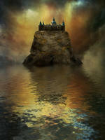 Premade mystic castle 4 by cindysart-stock by CindysArt-Stock