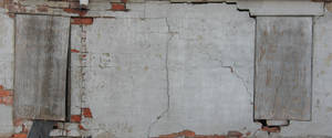 busted old wall by DougFromFinance
