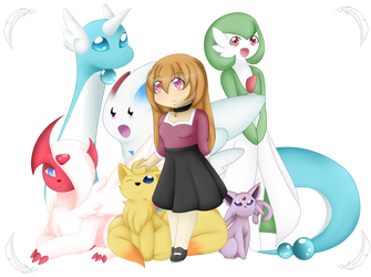 Kurai Pkmn Team by Angelgurl3