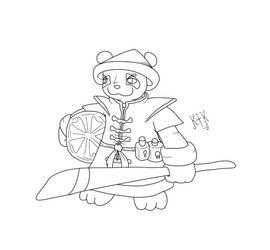 Pandaren_Lineart by KrlosKmask