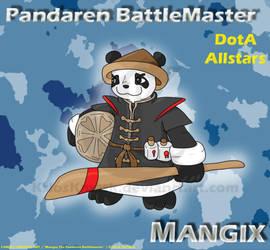Mangix, Pandaren Battlemaster by KrlosKmask