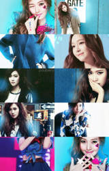 Picspam jessica in blue by poubery