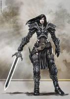 Female Warrior by bennyzien