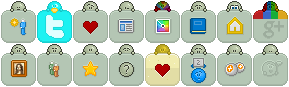 Default Emote Buttons V1 by pixiepot