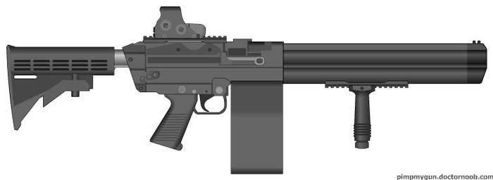 Grenade Launcher by Alpha957