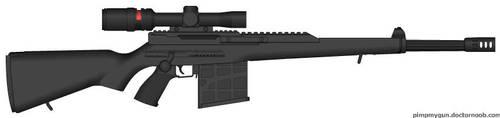 Custom Sniper Rifle by Alpha957