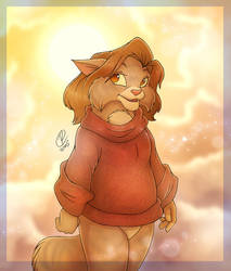 Sun Kitten by RexKing
