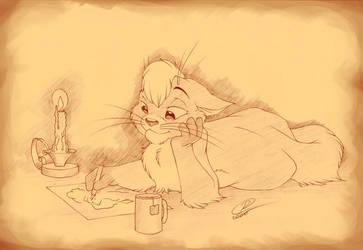Inspired Kitten by RexKing