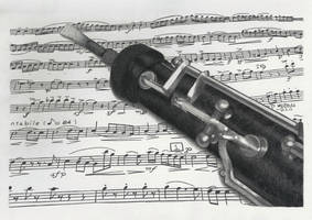 Oboe by KerstinSchroeder