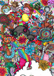 Dreaming Of Rainbows by Genki-Chu-Hi