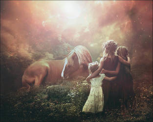 Sisters magical journey by SweetDreamsArt