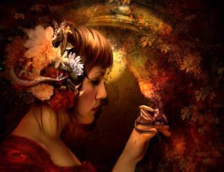 dragon cave by SweetDreamsArt
