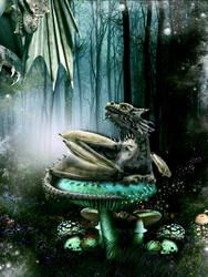 Dragon Talk by SweetDreamsArt