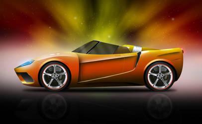 Ferrari Fortuna Roadster by Sherif-Da-Vinci