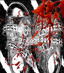 Blood Shoes by ohrna