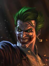 The Joker by vonmilano