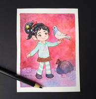 Princess Vanellope by gianjos